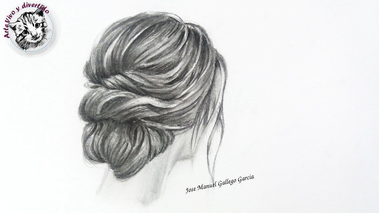 Como Dibujar Cabello Realista De Mujer Con Lapiz Tecnicas Y Tips De Dibujo Realista