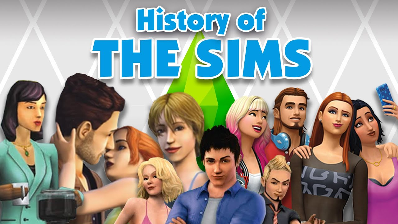 the history of the sims youtube