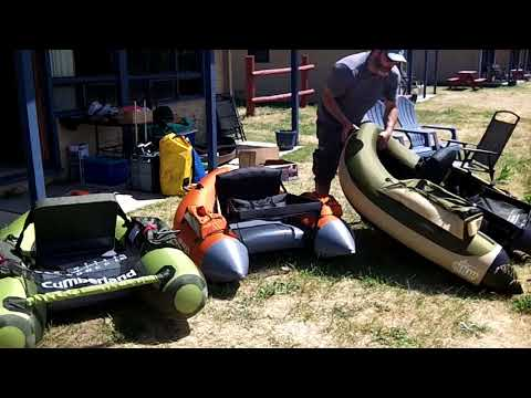 Float Tube Comparison: Cumberland Vs Super Fat Cat Vs Fish Cat 4