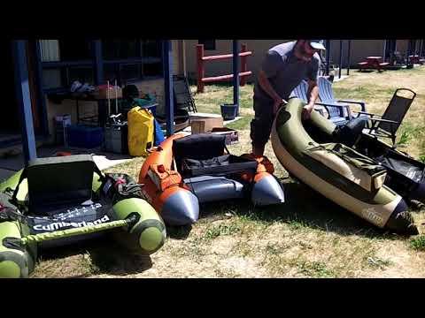 Float Tube comparison: Cumberland vs Super Fat Cat vs Fish Cat 4
