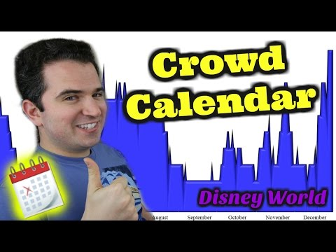 Disney World Crowd Calendar 2017