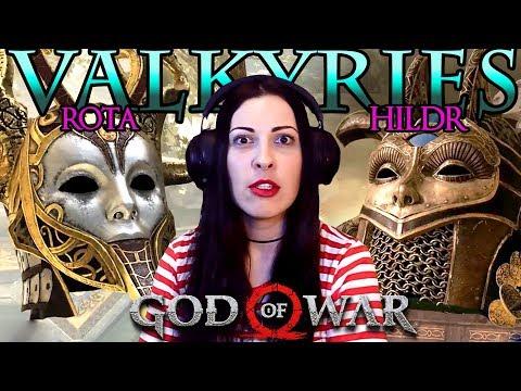 GOD OF WAR Walkthrough Part 23 - Valkyries + Time Limit = Rage (God of War 4)