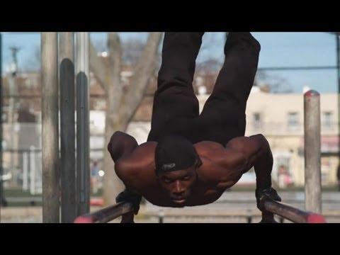 Extreme street workout & Parkour