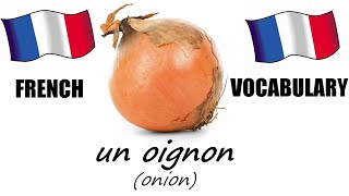 French Lesson 4 - VEGETABLES Vocabulary - Learn French - The French Minute