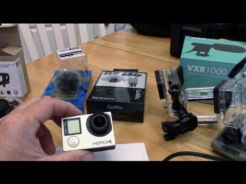 GoPro Hero4 Silver how to improve sound quality and battery life