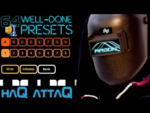 64 Well done presets for Argon synth │ iPhone synthesizer- haQ attaQ 37