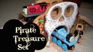 Wooden Thomas And Friends Pirate Treasure Set Thomas & Friends Kids Toy Train Set