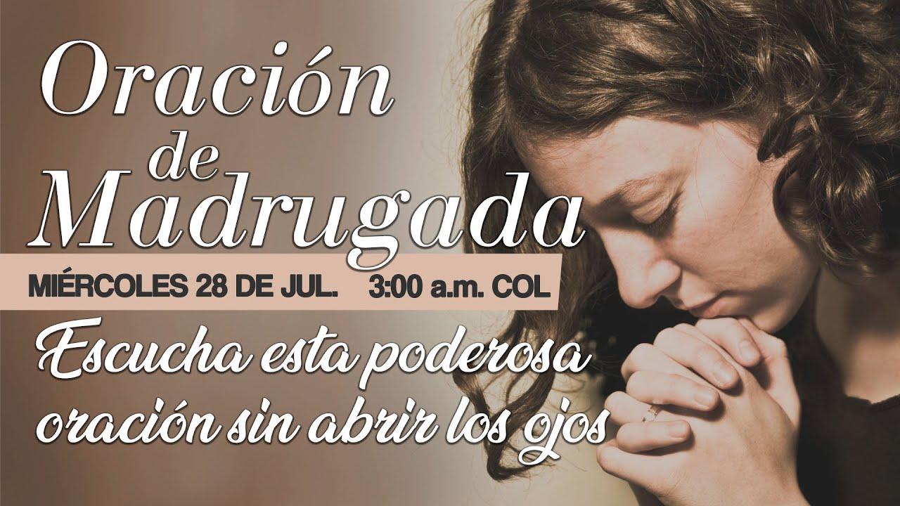 """Oración de Madrugada 3 a.m. """"Escucha esta poderosa oración sin abrir los ojos"""""""