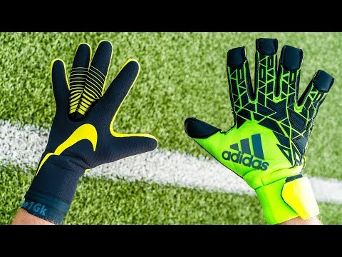NIKE TOUCH ELITE Vs ADIDAS PRO GOALKEEPER GLOVES BATTLE