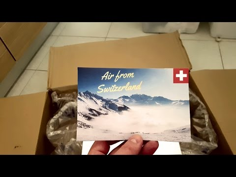 Air From Switzerland / Ultra Premium Luxury Air / Unboxing + Review !