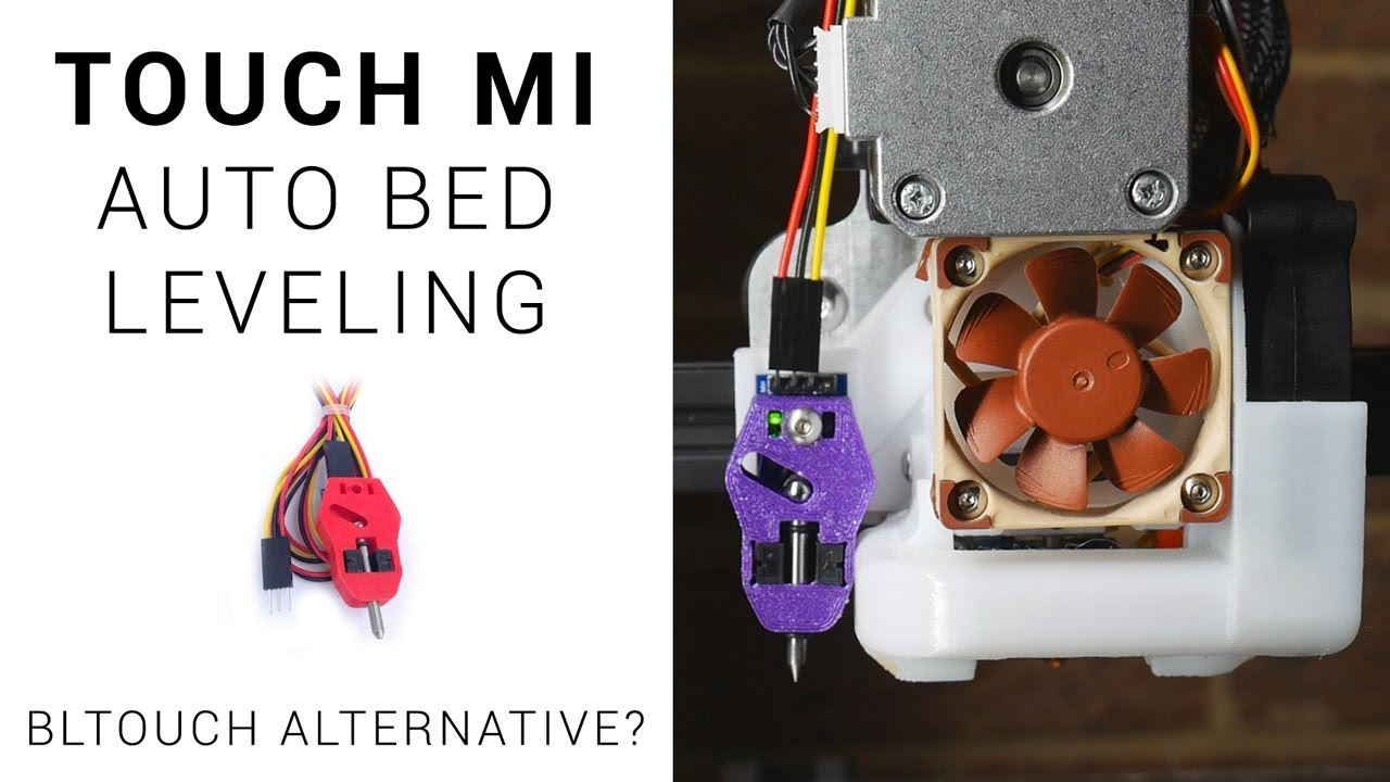Touch Mi auto bed leveling guide - BLtouch alternative? UPDATE IN  DESCRIPTION