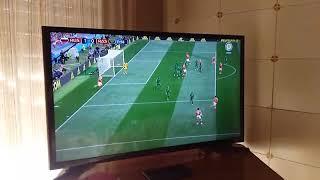 primer gol mundial rusia 2018. first goal rusian world cup 2018