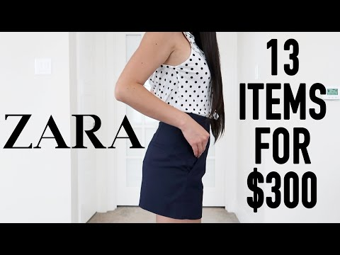 $300 Zara Summer Sale Haul & Review | 13 Items For $300