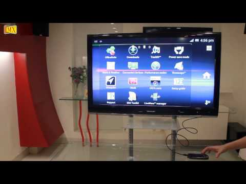 How To Connect Sony Ericsson Xperia neo V to the TV