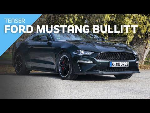 Teaser Ford Mustang Bullitt  / Review Mustang Bullitt / Test