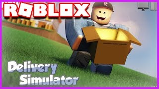 J'AI UN NOUVEAU METIER ! | Roblox Delivery Simulator