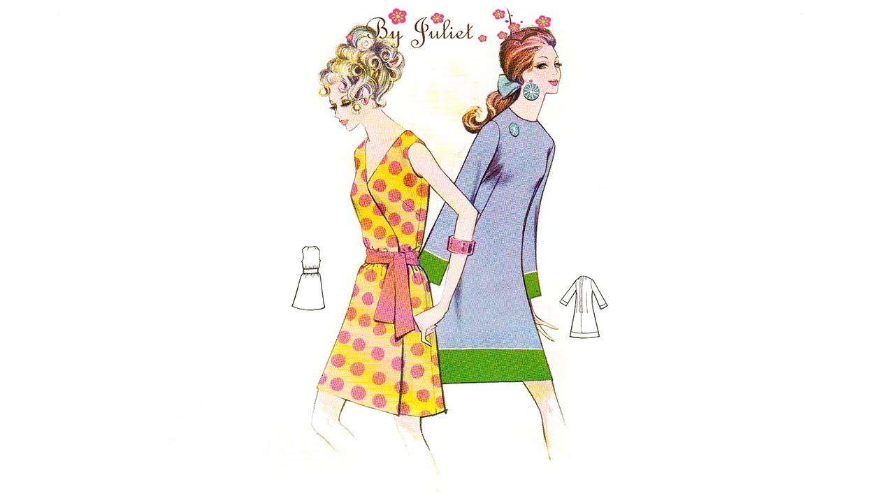 Vintage Dress Clothing 50s 60s 70s 80s Retro Mod Boho Bohemian | ByJuliet  sc 1 st  YouTube & Vintage Dress Clothing 50s 60s 70s 80s Retro Mod Boho Bohemian ...