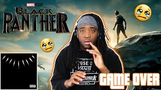 BLACK PANTHER ALBUM REVIEW & REACTION *EMOTIONAL*