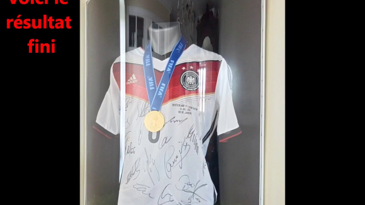 how to frame your own sports jersey germany 2014 france. Black Bedroom Furniture Sets. Home Design Ideas