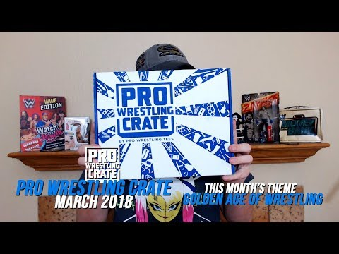 Pro Wrestling Crate Unboxing (March 2018): Golden Age Of Wrestling