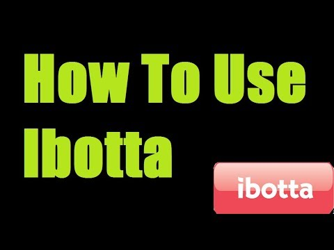 How to use the IBOTTA App