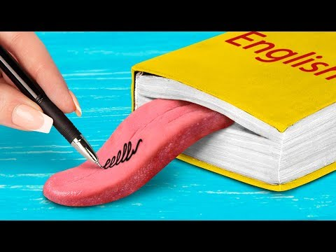 15 Funny DIY School Pranks! Easy Pranks For Back To School!