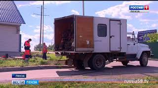 Водоснабжение в Пензе восстановлено раньше запланированного срока