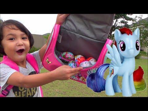 Berburu Mainan Murah My Little Pony - Beli Surprise Egg dan Kinder Joy