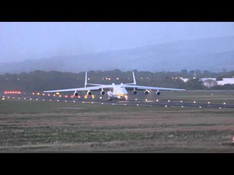 Antonov 225 Takeoff Shannon Airport
