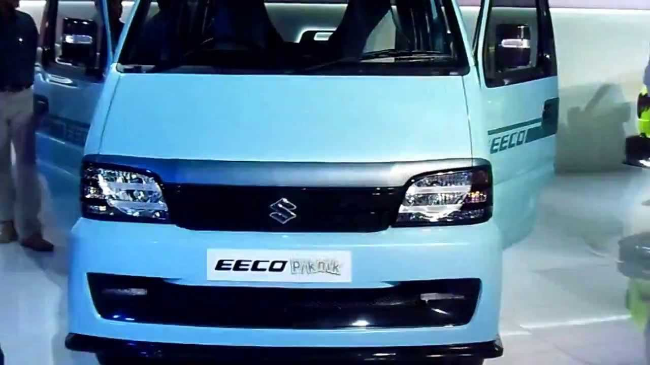 Maruti Suzuki Eeco Piknik At 12th Auto Expo 2014 The Motor Show