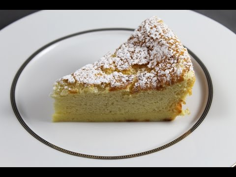Gâteau magique par Alain Ducasse