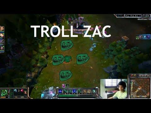 League of Legends - Troll Zac (Passive)