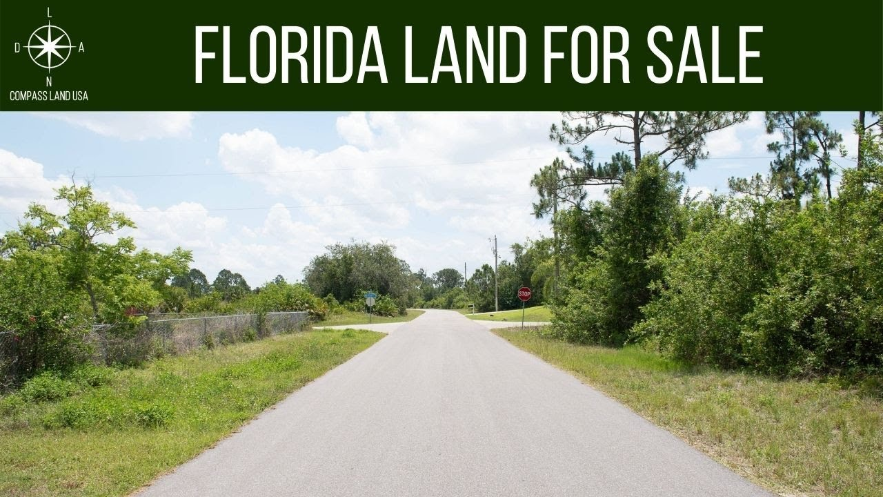 SOLD - 0.26 Acres - With Power and Paved Road! In Lehigh Acres, Lee County FL