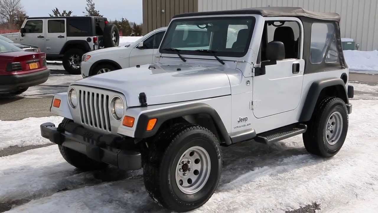 sold 2006 jeep wrangler se for sale low miles auto soft top custom rims tires