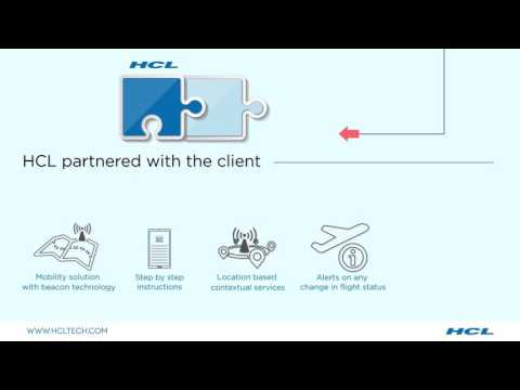 HCL Implemented Beacon Technology For a Leading Middle-Eastern Airport