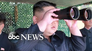 North Korea launches short-range missiles into Sea of Japan