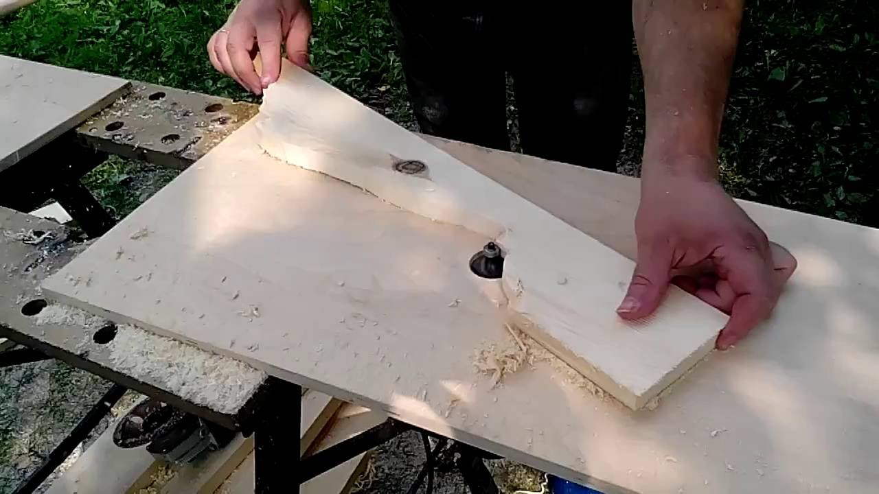 Балясина из доски своими руками