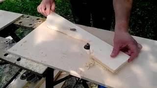 видео Как сделать балясины из дерева своими руками?