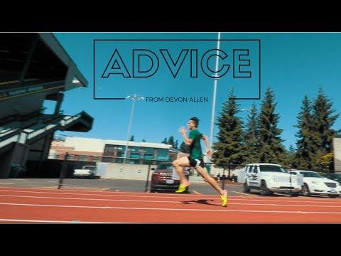 Sprint Workout With Devon Allen