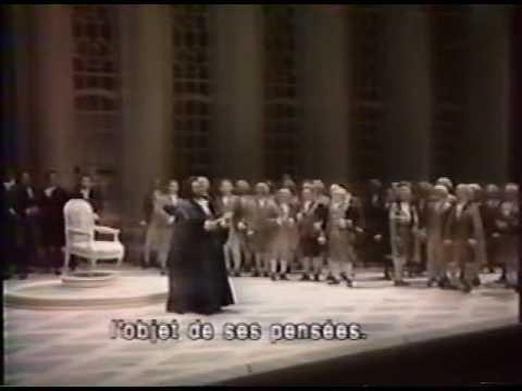 UN BALLO IN MASCHERA, Paris 1992 Pavarotti-Chung