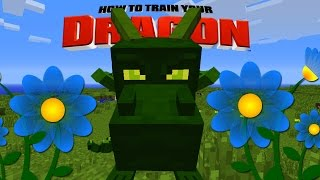 Minecraft - HOW TO TRAIN YOUR DRAGON - R.I.P Ivy the Dragon [31]