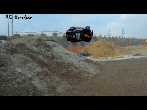 Traxxas Slash Dakar Unleashed (Castle SV3 Powerhouse)Off-road power slides & Jumps-RC OVERDOSE