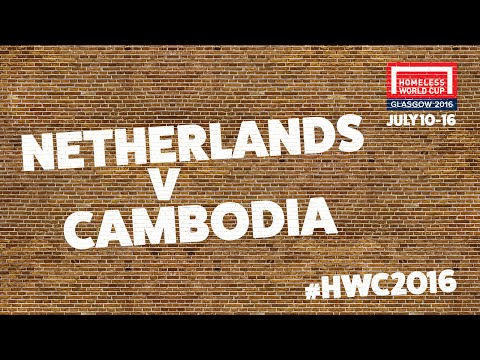 Netherlands v Cambodia | Men's Globe Quarter Finals #HWC2016