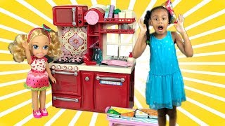 Barbie Chelsea Baby Doll & Kitchen Toys