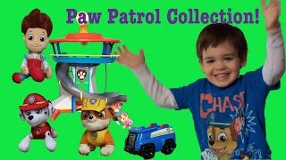 Paw Patrol Collection Plush Toys Lookout Tower Rescue Training Center