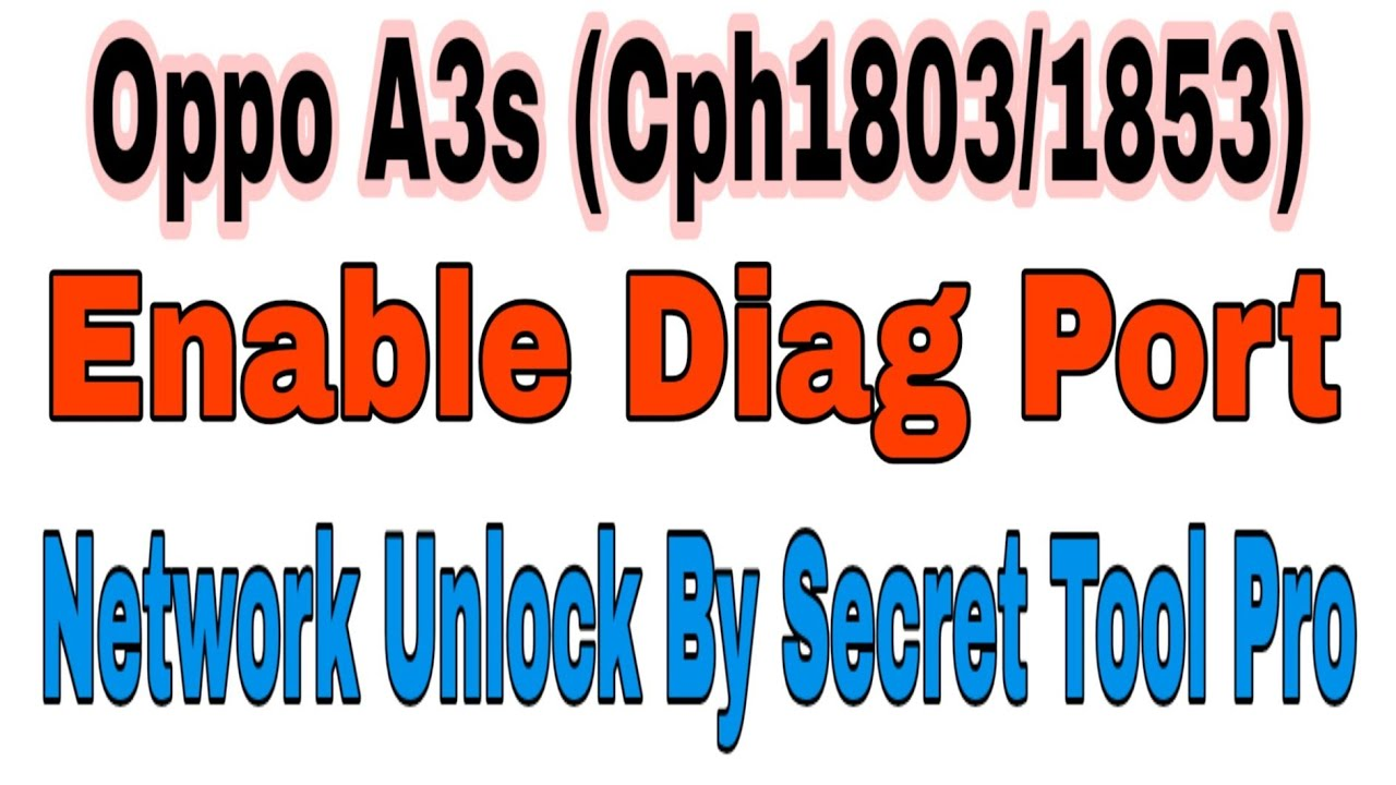 OPPO A3S (Cph1803/1853)latest security patch (2018-11-05
