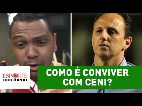 Como é conviver com Rogério Ceni? Ex-São Paulo abre o jogo!