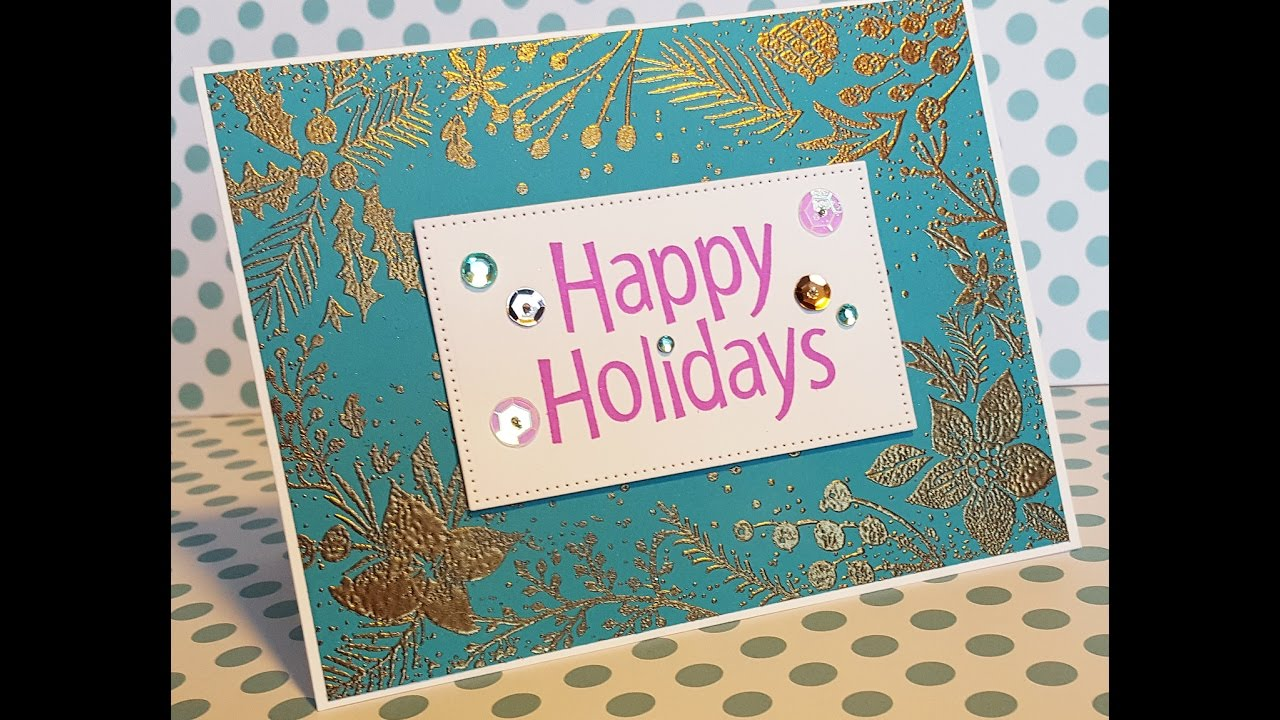 12 Days of Christmas Cards - Day 4: Non-Traditional Happy Holidays ...