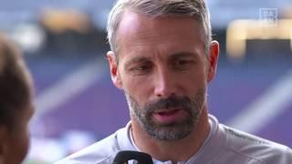 Marco Rose im Interview mit DAZN vor Salzburg vs. Leipzig