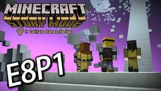 Minecraft Story Mode Episode 8 Part 1 : 旅途的最終站